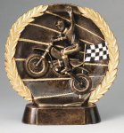 Resin Plate Motocross Moto-Cross Trophy Awards