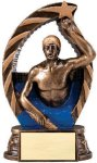 Bronze and Gold Swim  Male Award Swimming Trophy Awards