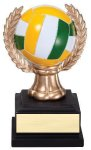 Wreath Sport Ball Volleyball Volleyball Trophy Awards